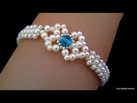 DIY Elegant bracelet for your loved ones. Easy bracelet pattern