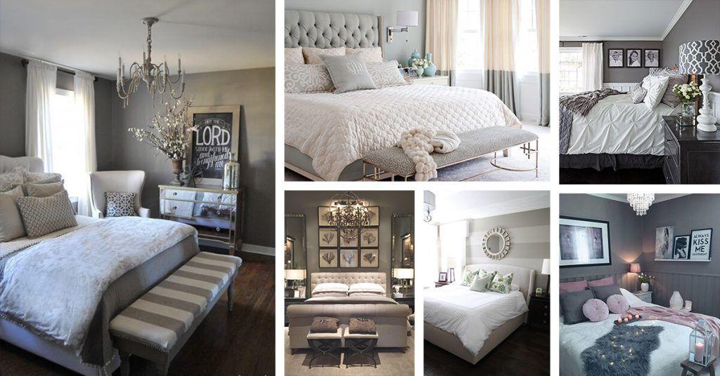 23 Cozy Grey Bedroom Ideas that You Will Adore | Gray ...
