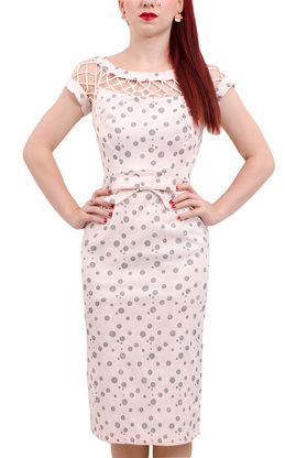 Alika Pencil Dress - Baby Pink
