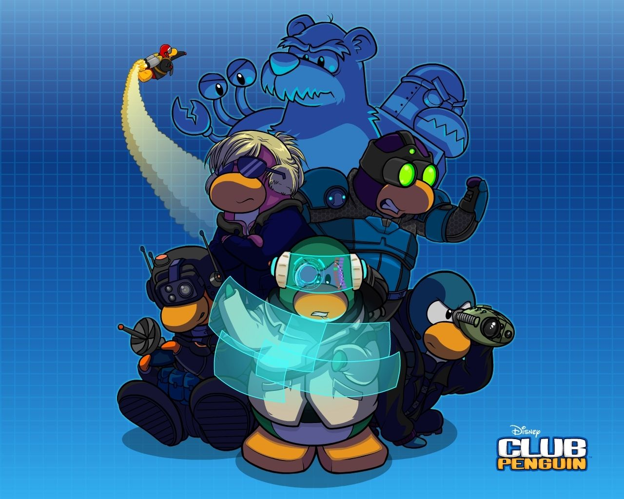 Cold Dude Computers Club Penguin Wallpapers Club