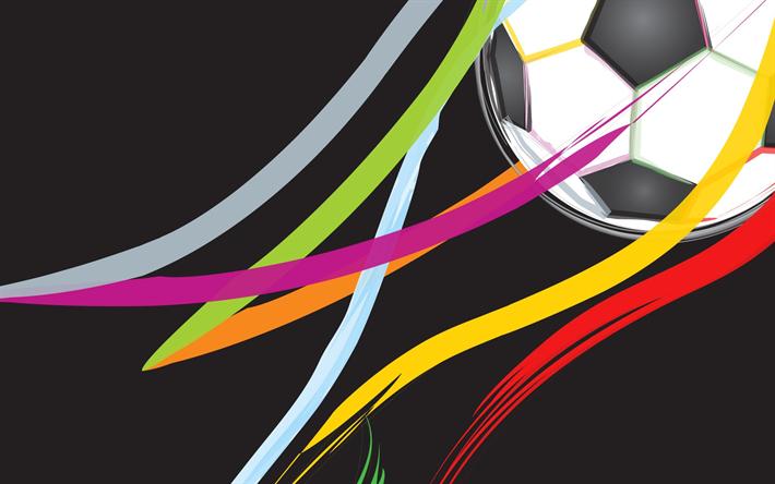 Fondos De Pantalla Fútbol Pelota Silueta Deporte: Descargar Fondos De Pantalla Fútbol Conceptos, Pelota De