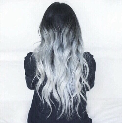 Pinterest darkfrozenocean tumblr hair locks ice blue ombre were kinda obsessed with this hair color the color combination is fit for a snow queen this complex shade of dark hair with hints of dark pmusecretfo Gallery