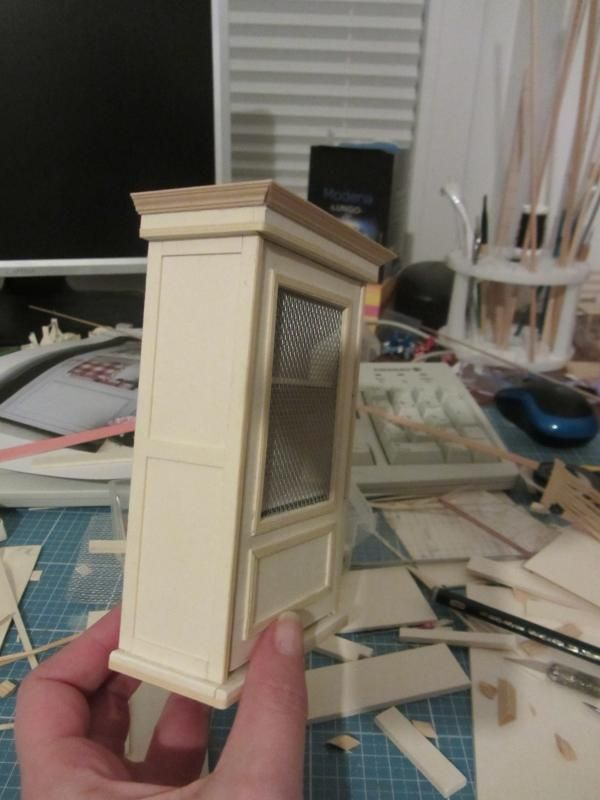 nostalgie in 1zu12 miniaturen puppenstube m bel. Black Bedroom Furniture Sets. Home Design Ideas