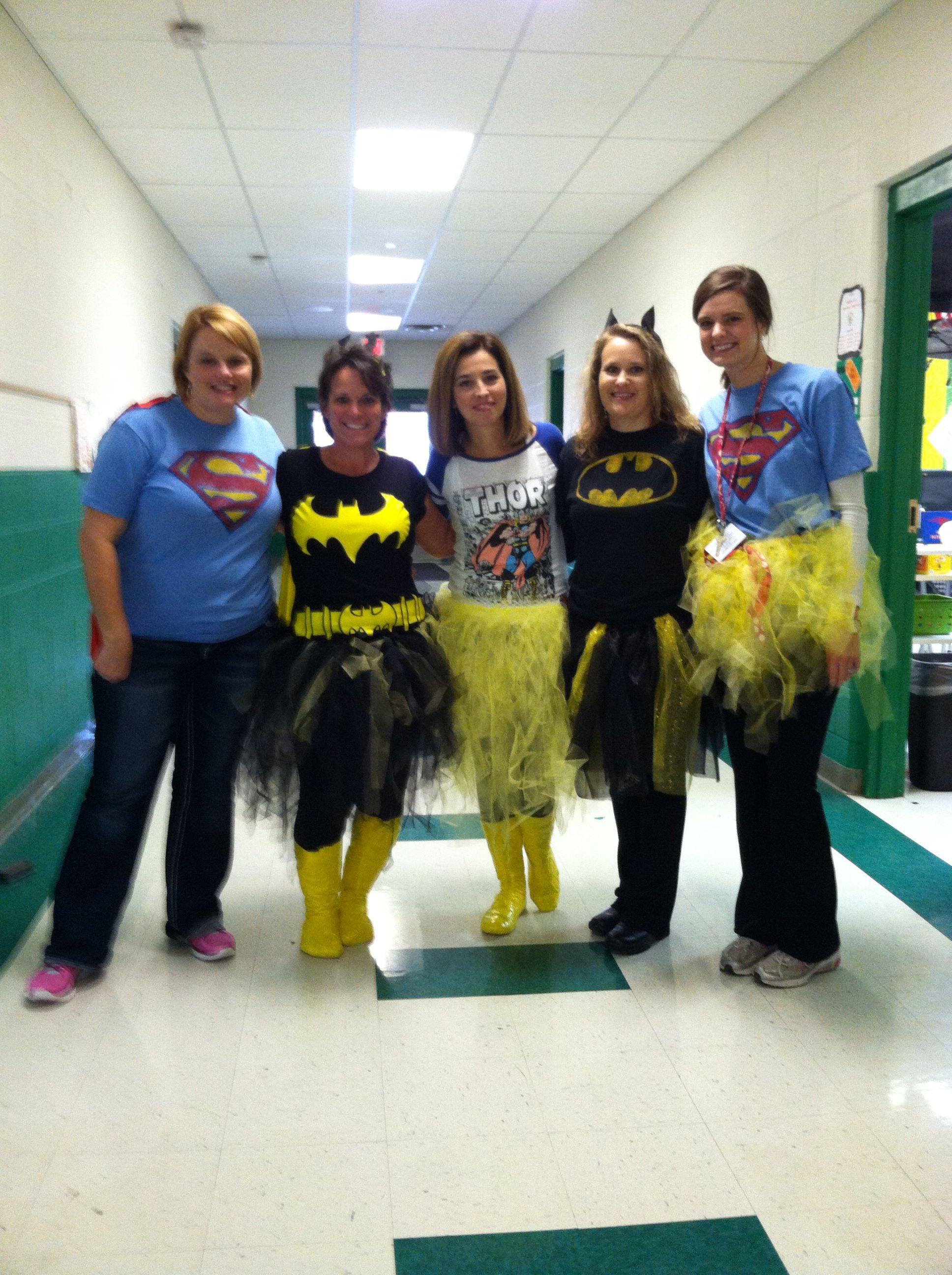 Teachers Make Natural Super Heros Super Hero Day Halloween School Dress Up Day
