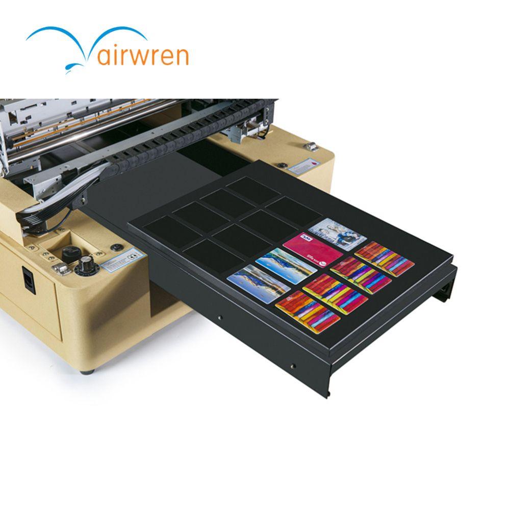 Business Name Card Printer Pvc Inkjet Card Uv Flatbed Printing Machine With Dx5 Printer Head Telephone Cases Card Printer Phone Cases