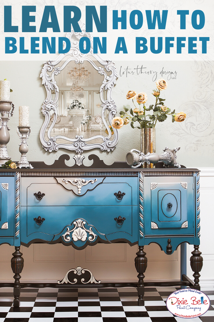 How to Use New Blue Colors   Dixie Belle Paint Company in ...