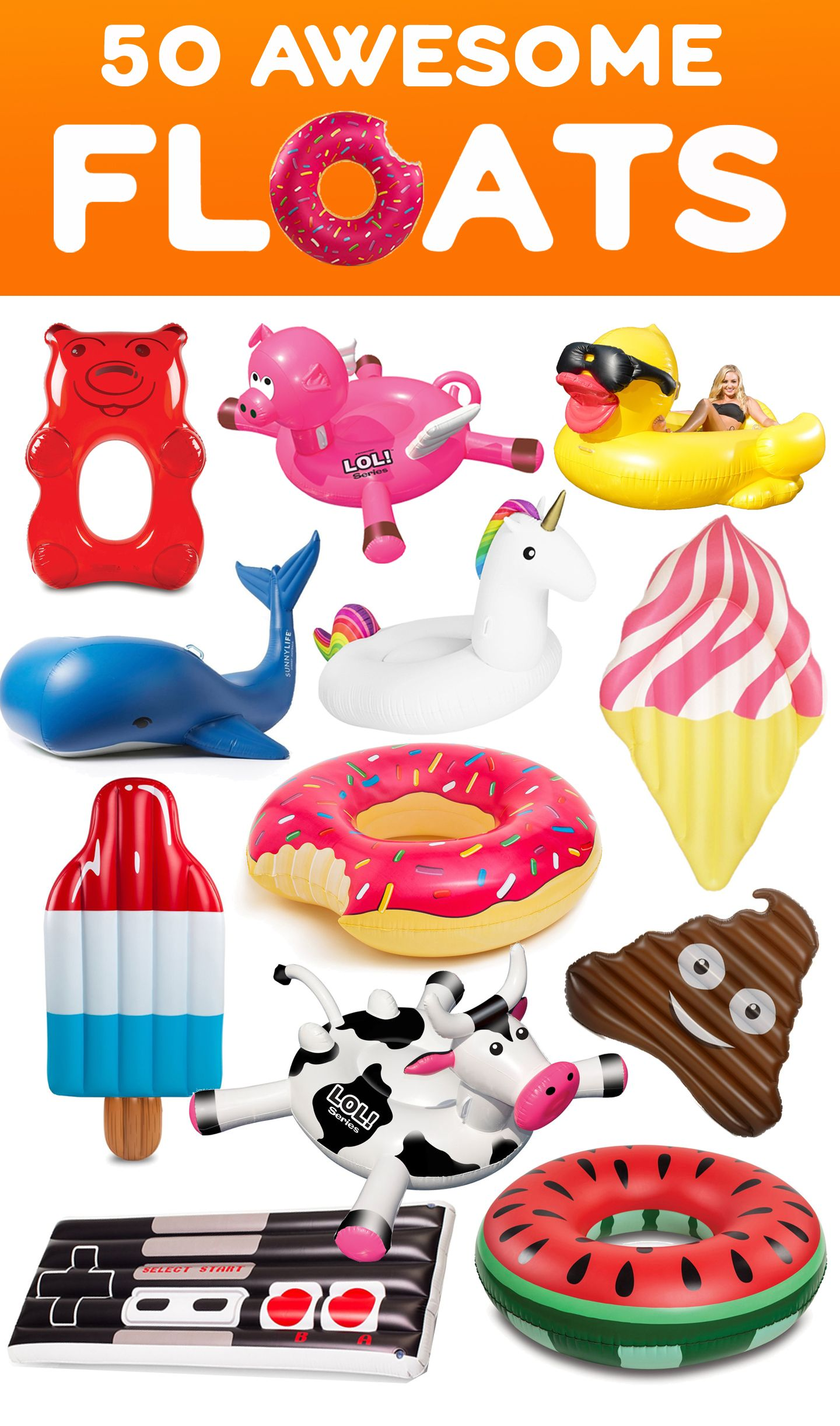 50 Awesome Pool Floats Summer s here and it s time to float in