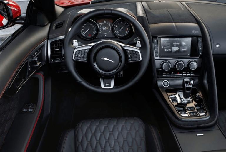 Jaguar F Type Svr 2020 Interior