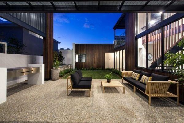 Moderne terrassengestaltung  Moderne Terrassengestaltung – 100 Bilder und kreative Einfälle ...