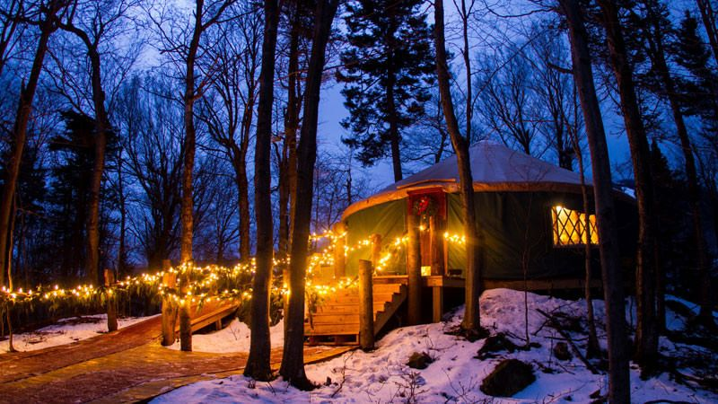 8 Holiday Yurt Dinners | Weekend Escapes | OutsideOnline.com