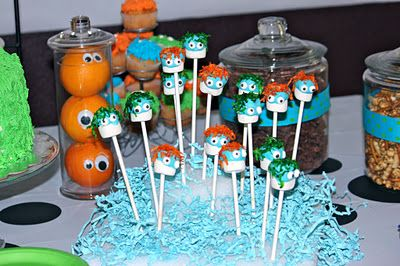 Monster party - this site has tons of ideas for parties.