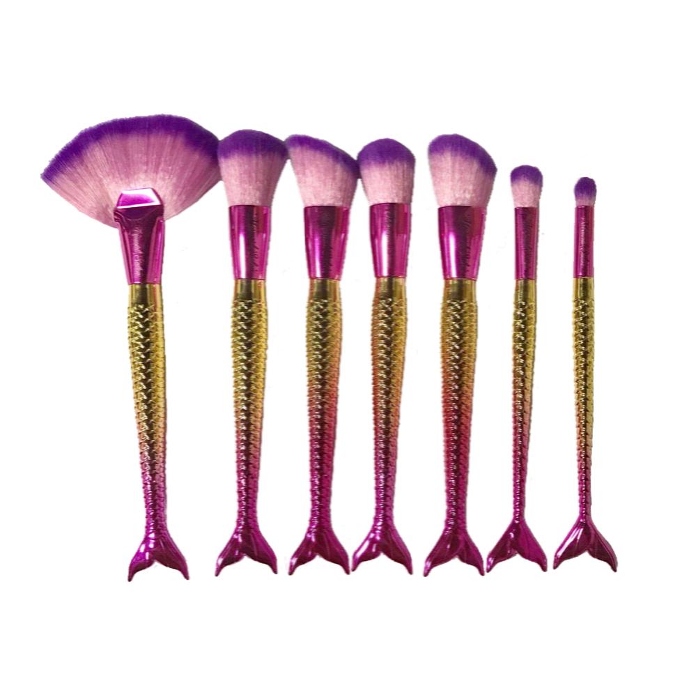 Image of *SPECIAL* LONGLINE 7 piece brush set Cruelty