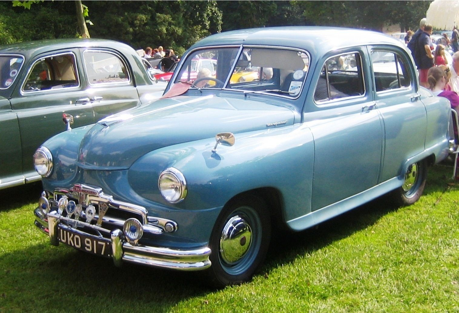 1950s Standard Vanguard Mk2 Maintenance of old vehicles: the ...