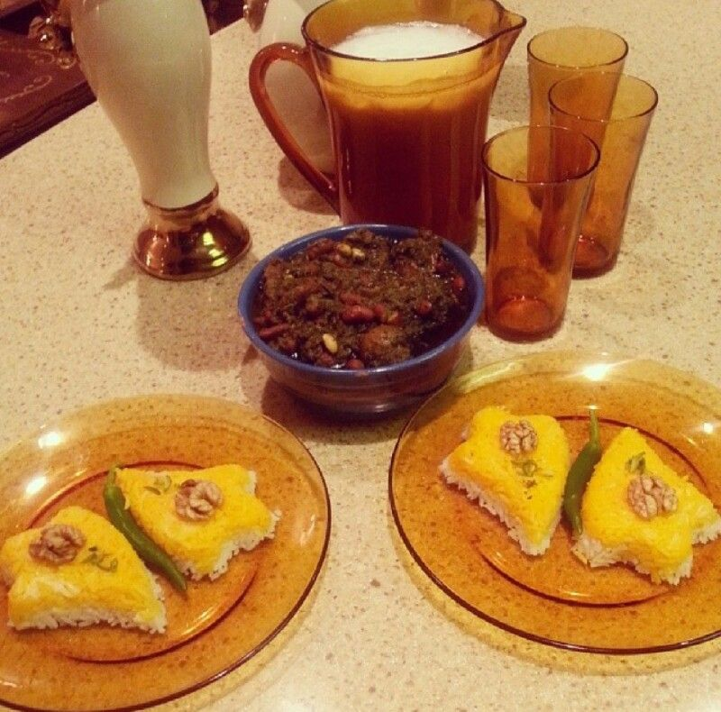 Ghorme sabzi iranian food cooked by me food iranian