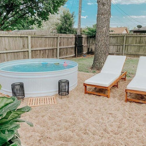 The stock tank pool KIT: four ESSENTIAL items to keep your stock tank pool clean, clear, and BLUE all summer — Stock Tank Pool Tips, Kits, & Inspiration | How-to DIY | @StockTankPools