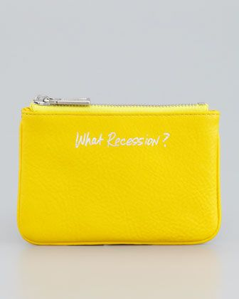 Cory What Recession Pouch by Rebecca Minkoff at Neiman Marcus.
