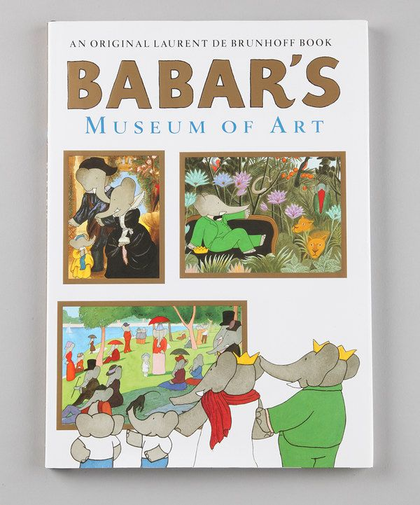 Take a look at this Babar's Museum of Art Hardcover on zulily today!