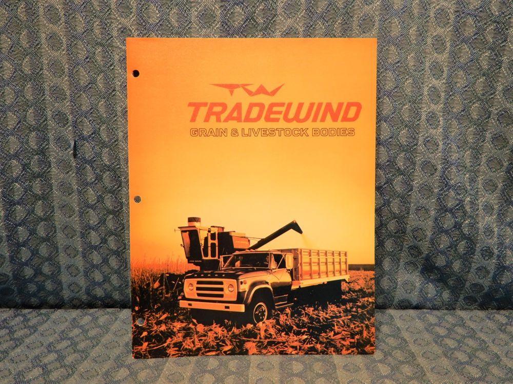 1973 1974 Tradewind Grain Livestock Bodies Catalog Chevrolet Ford Dodge Ihc Tradewind Livestock Body Chevrolet