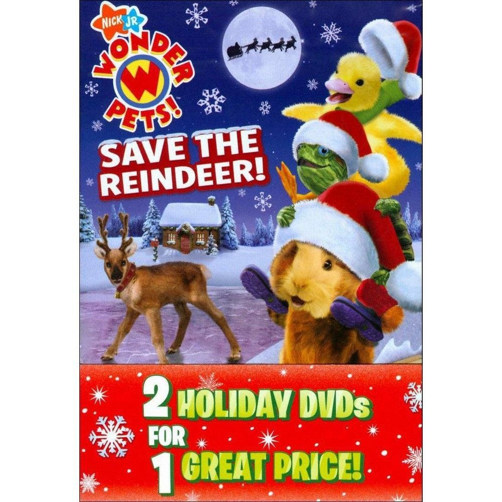 Wonder Pets Save The Reindeer Save The Nutcracker 2 Discs