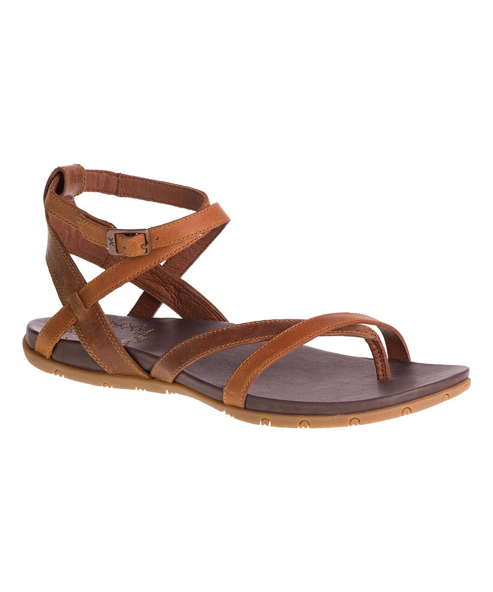 Chaco Rust Juniper Leather Sandal