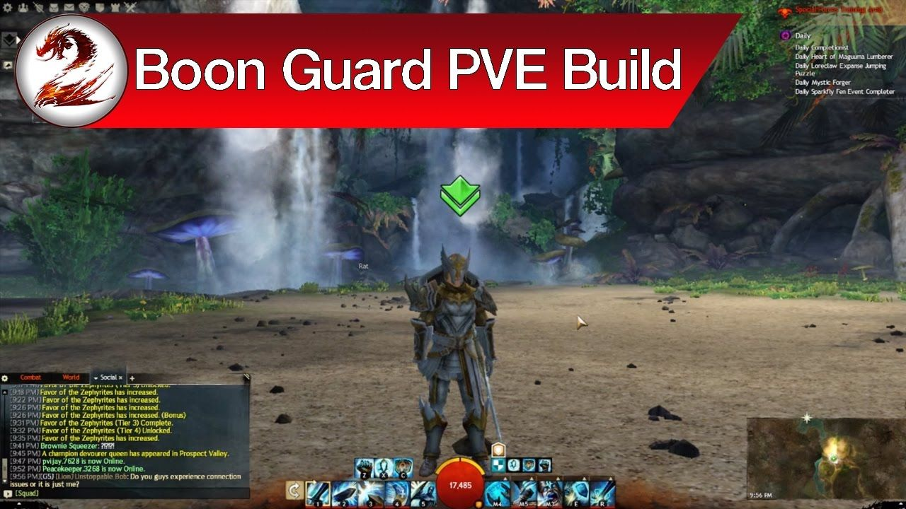 Guild Wars 2: Perma Swiftness Boon Guardian Build – All Boons