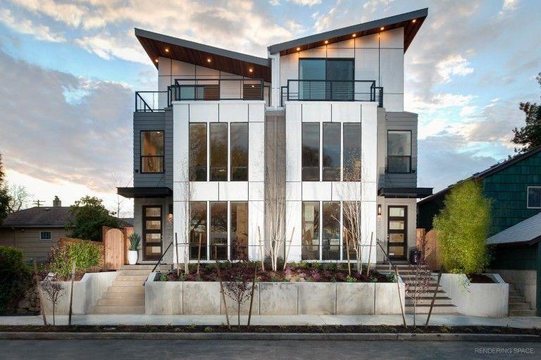 Homes By B Keys Portland Oregon Home Builder Rendering