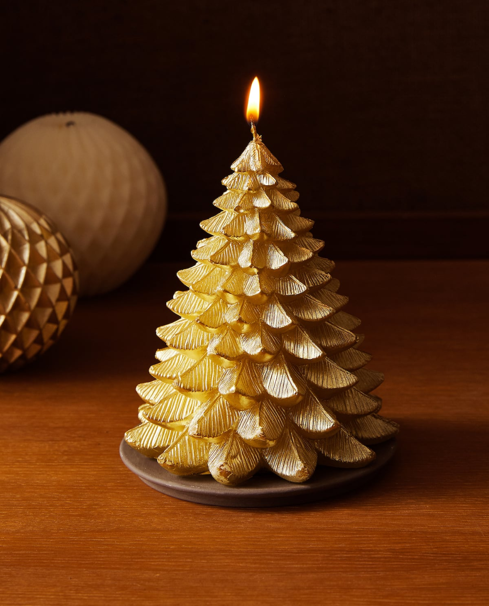 Image 6 Of The Product Christmas Tree Candle In 2020 Christmas Tree Candles Candle Decor Candle Tree