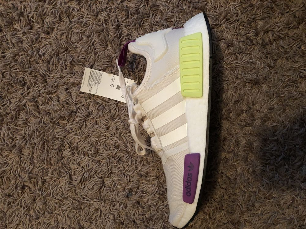 26e6eece80ba9 Adidas NMD R1 Chalk White Semi Solar Yellow D96626 Men s Running Shoe size  10  fashion  clothing  shoes  accessories  mensshoes  athleticshoes (ebay  link)