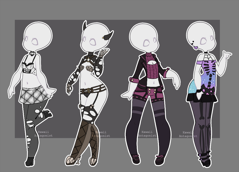 Gacha outfits 11 by on