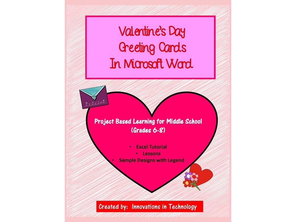 Valentine\'s Day Cards using Microsoft Word | Microsoft word ...
