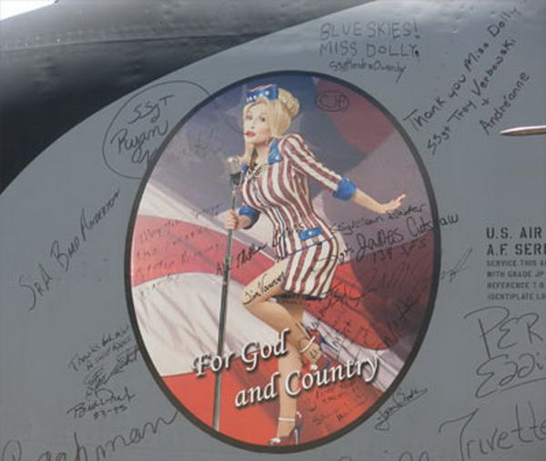 For God and Country....Miss Dolly