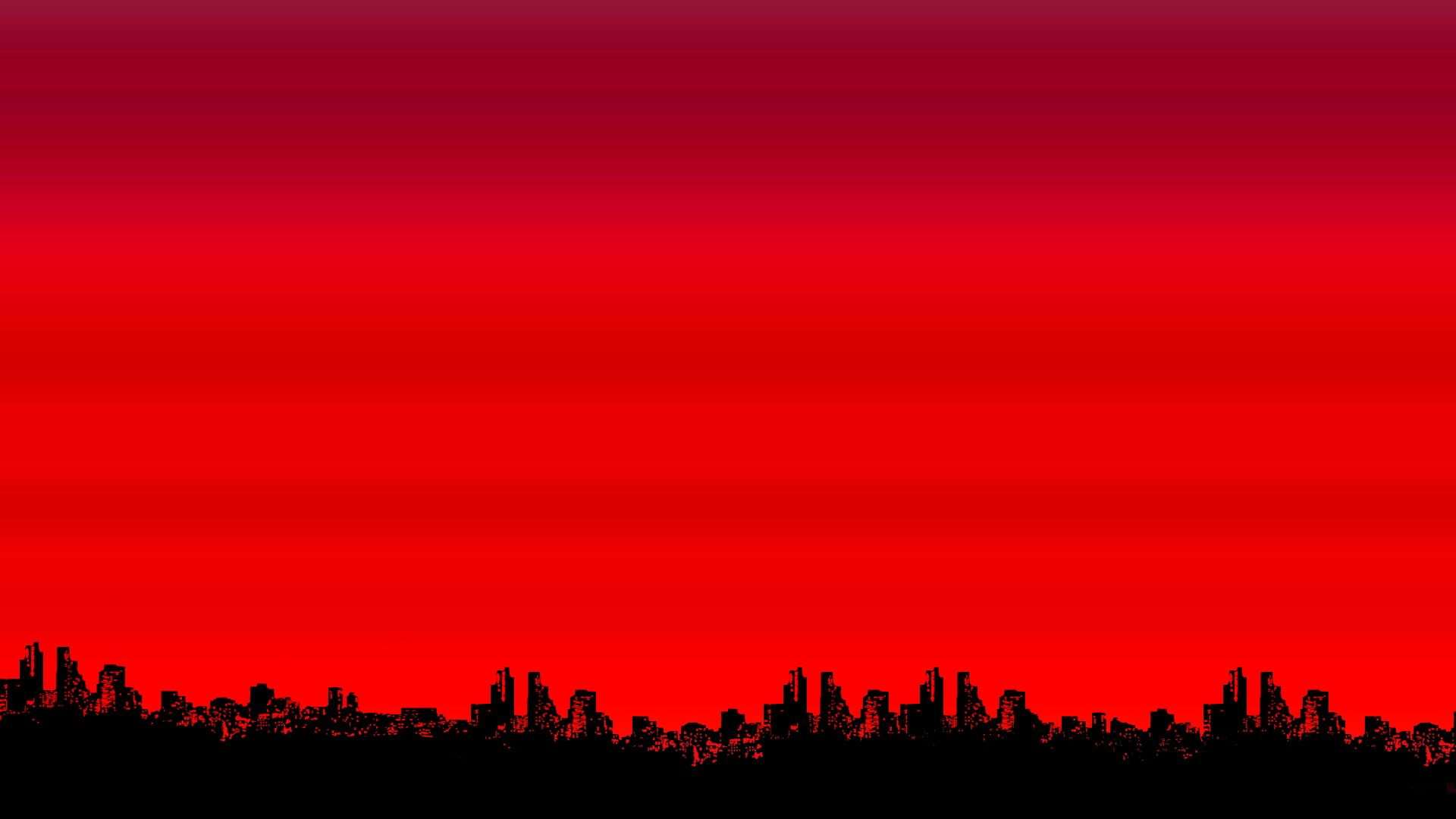 Red Color Simple Background Minimalism Buildings Black Art Red Color Simple Background Minimalism Buildi Red Wallpaper Dark Red Wallpaper Red Background