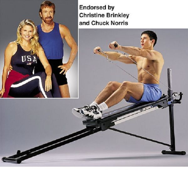 The new total gym fit chuck norris home gyms fitness