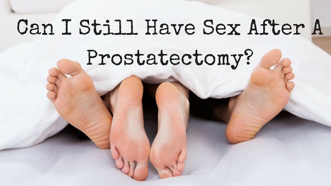 sex after prostrate removal