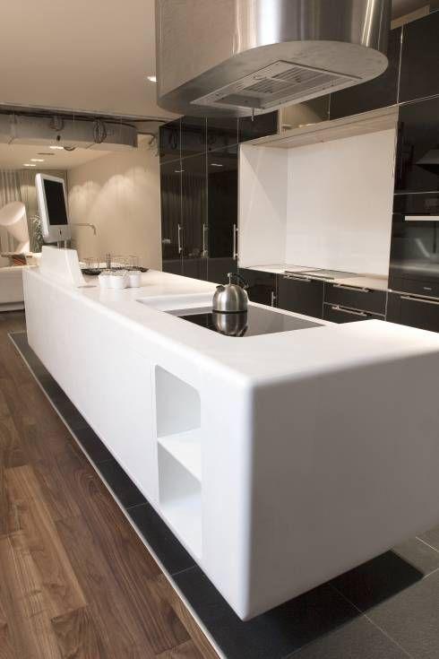 Die beliebtesten Materialien der Deutschen für Küchenarbeitsplatten