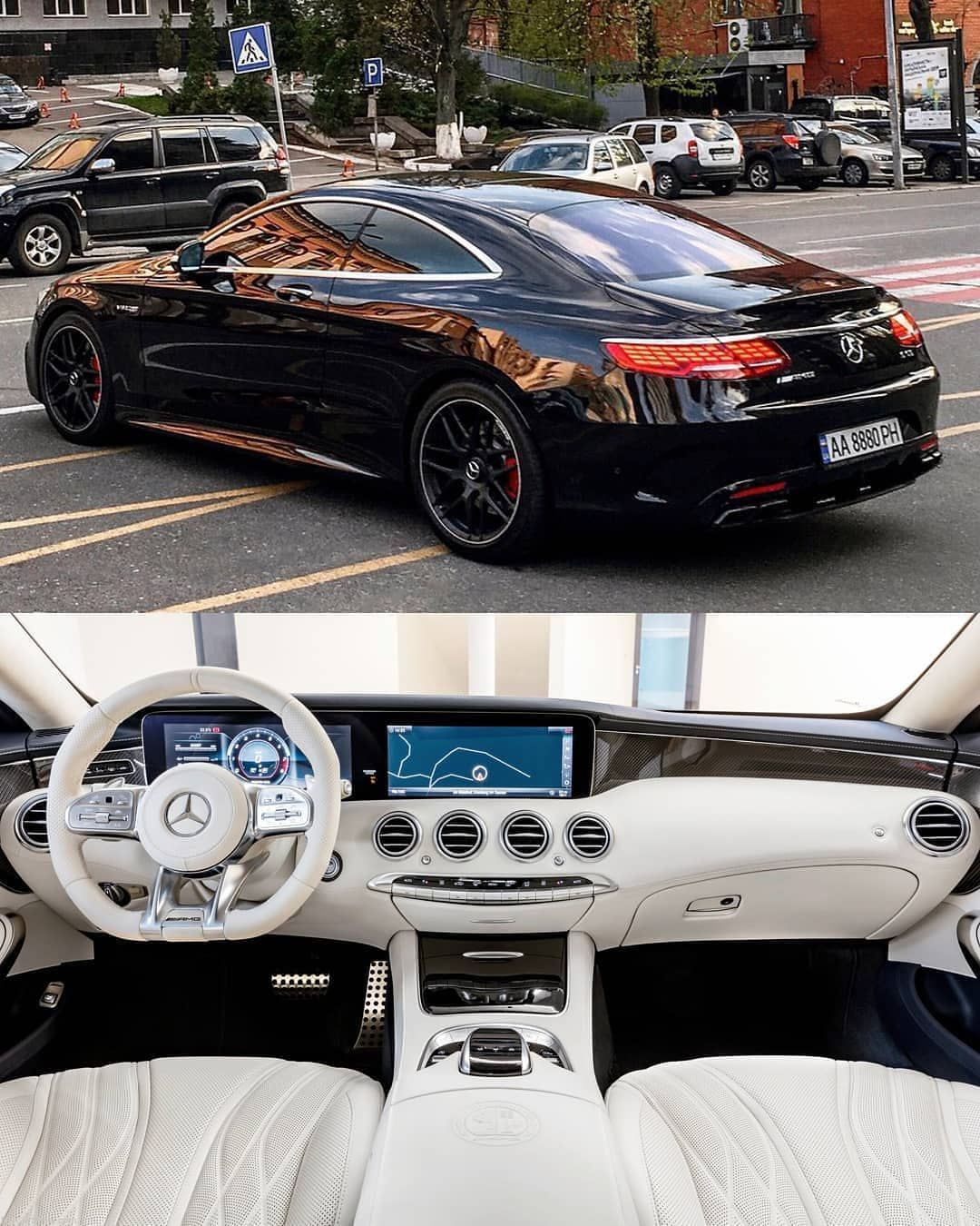 Mercedes Benz S63 Amg Coupe 2019 Follow Uber Luxury For More