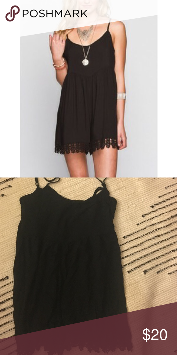 9908ac01ca33 Volcom Black Romper Super cute and comfortable. Absolutely a great ...