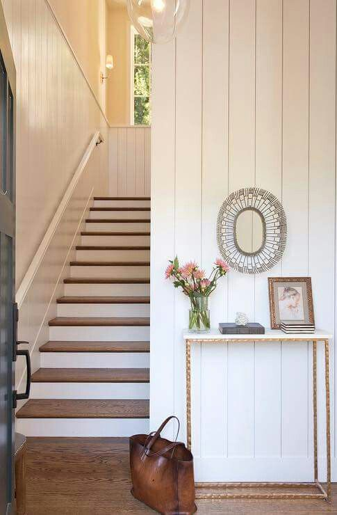 Vertical Shiplap Dream Home Ideas Small Entryways