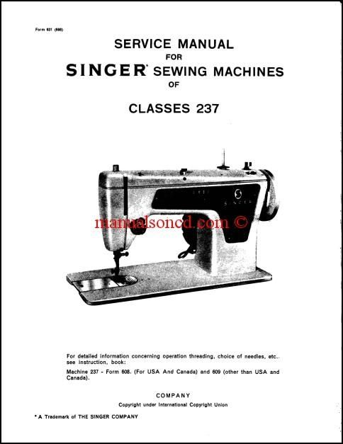 Singer 40 Sewing Machine Service Manual Download Sewing Machine Delectable Singer Sewing Machine Manual Free Download