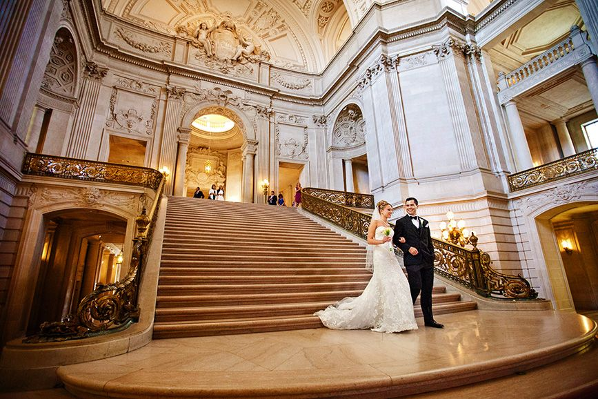 San Francisco City Hall Wedding Simple Elegant And Gorgeous Such An Amazing
