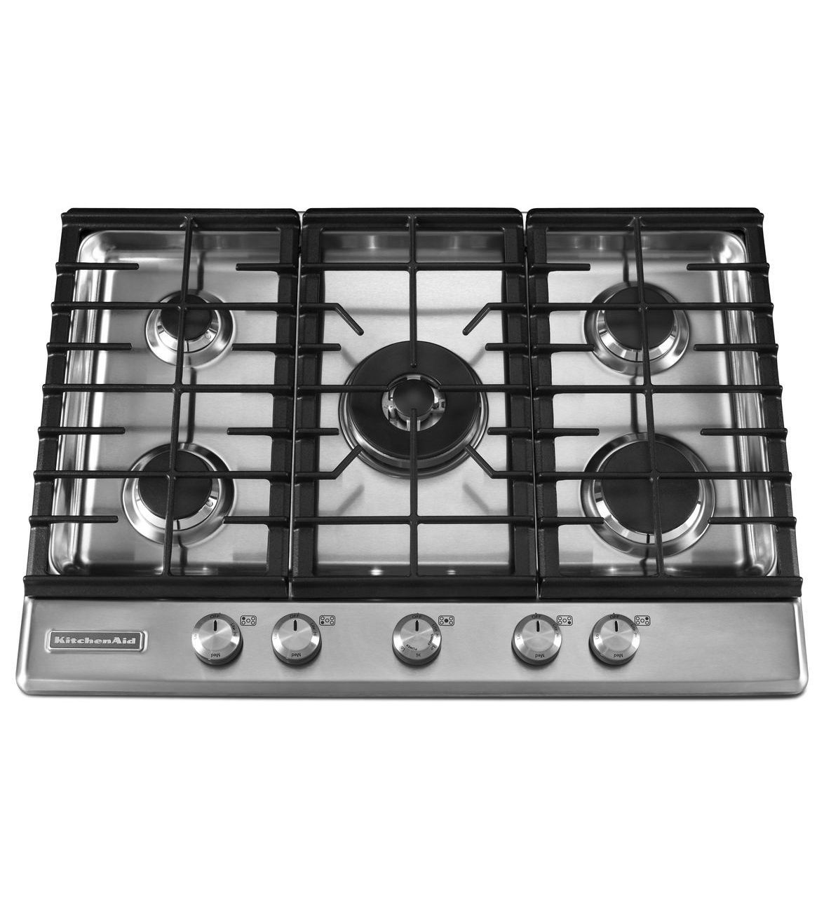 KitchenAid® 30 Inch 5 Burner Gas Cooktop, Architect® Series II (