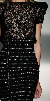 Balmain cocktail 2012  This could very well be the black dress of 2012. And what makes it even more exciting is that it is from the House of Balmain. Impeccable fabric, impeccable construction, and just plain sexy as hell.  www.davidpressmanevents.com  www.askamantoo.com