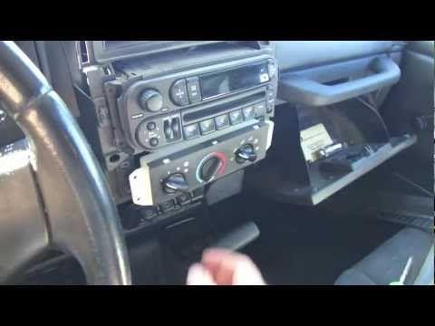 Jeep Wrangler Tj Fan Speed Heater Fix Dash Removal Youtube