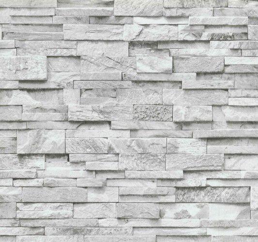 vliestapete grau steine mauer ps 02363 30 haus. Black Bedroom Furniture Sets. Home Design Ideas