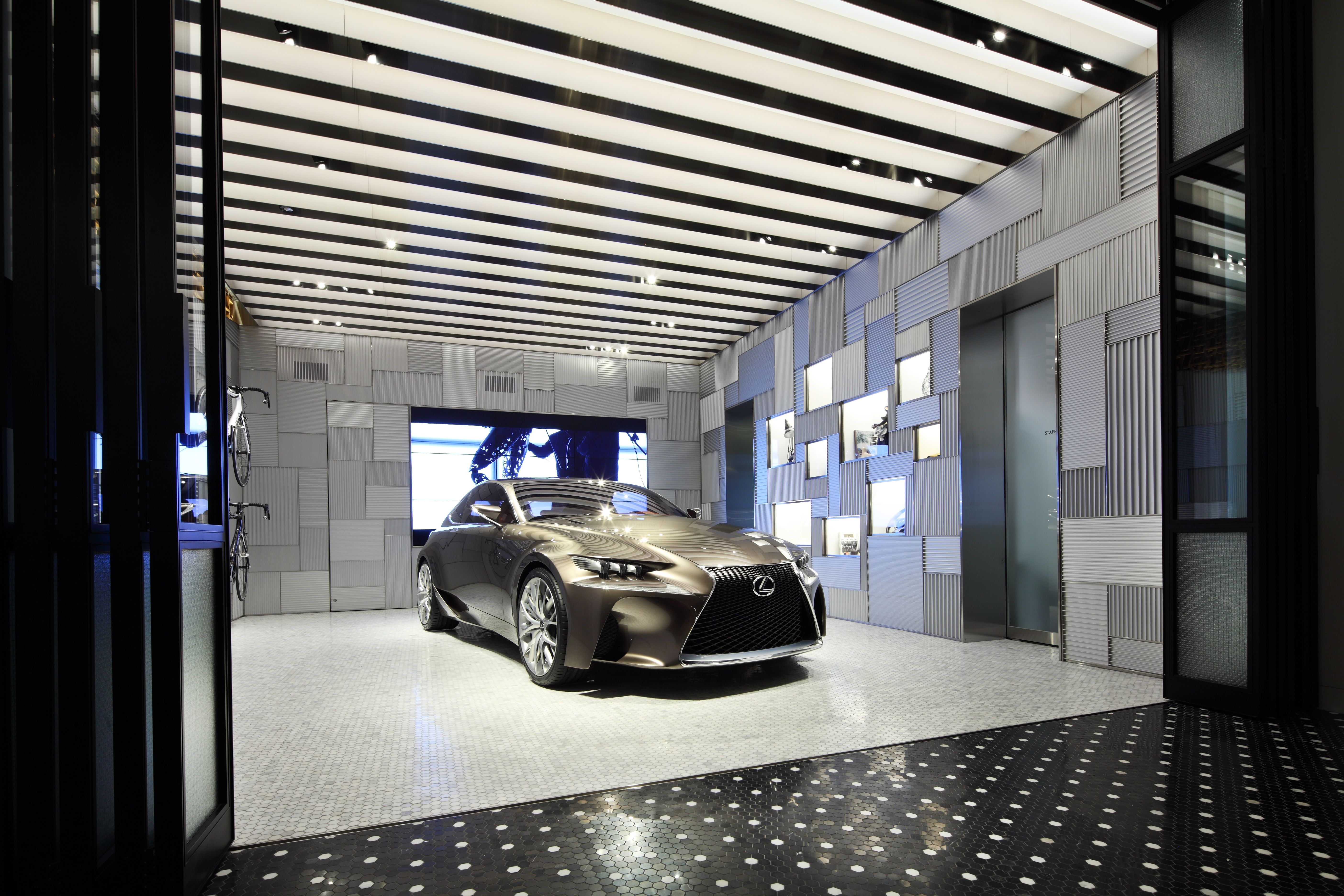 Toyota Motors Brings A New Restaurant Concept To Car And Coffee Lovers With Intersect By Lexus Set Launch In Dubai This Season