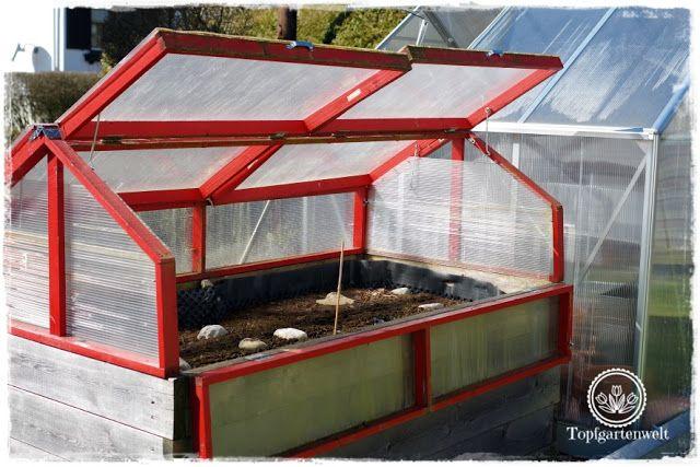 Gartenblog Topfgartenwelt Diy Klappbare Hochbeet Uberdachung Aus Holz Mit Doppelstegplatten Hochbeet Bepflanzung Gartenbuch