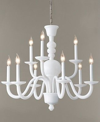 Milk Glass Chandelier Diy An Old Brass Using Flat White Spray Paint By Lorna