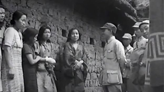First Known Film Of Comfort Women Found Korean History