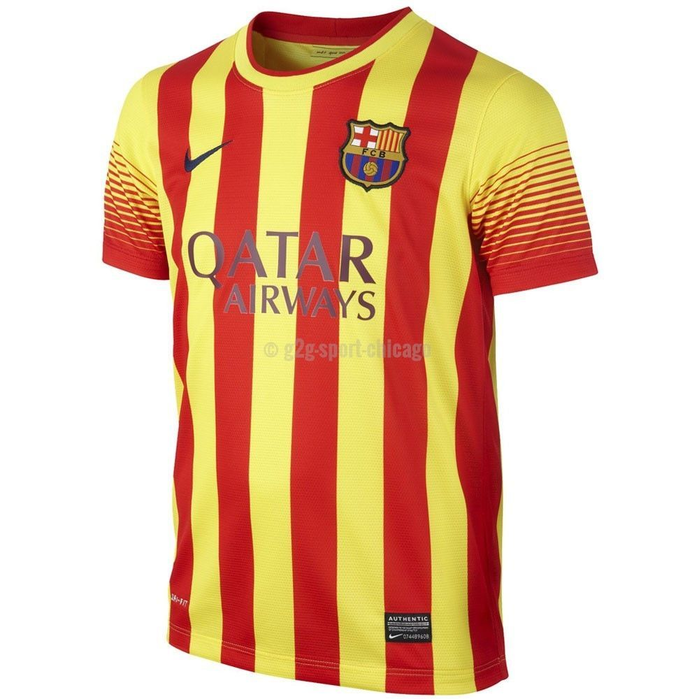 ed624764a Barcelona Jersey Youth and Boys Sizes 2013 2014