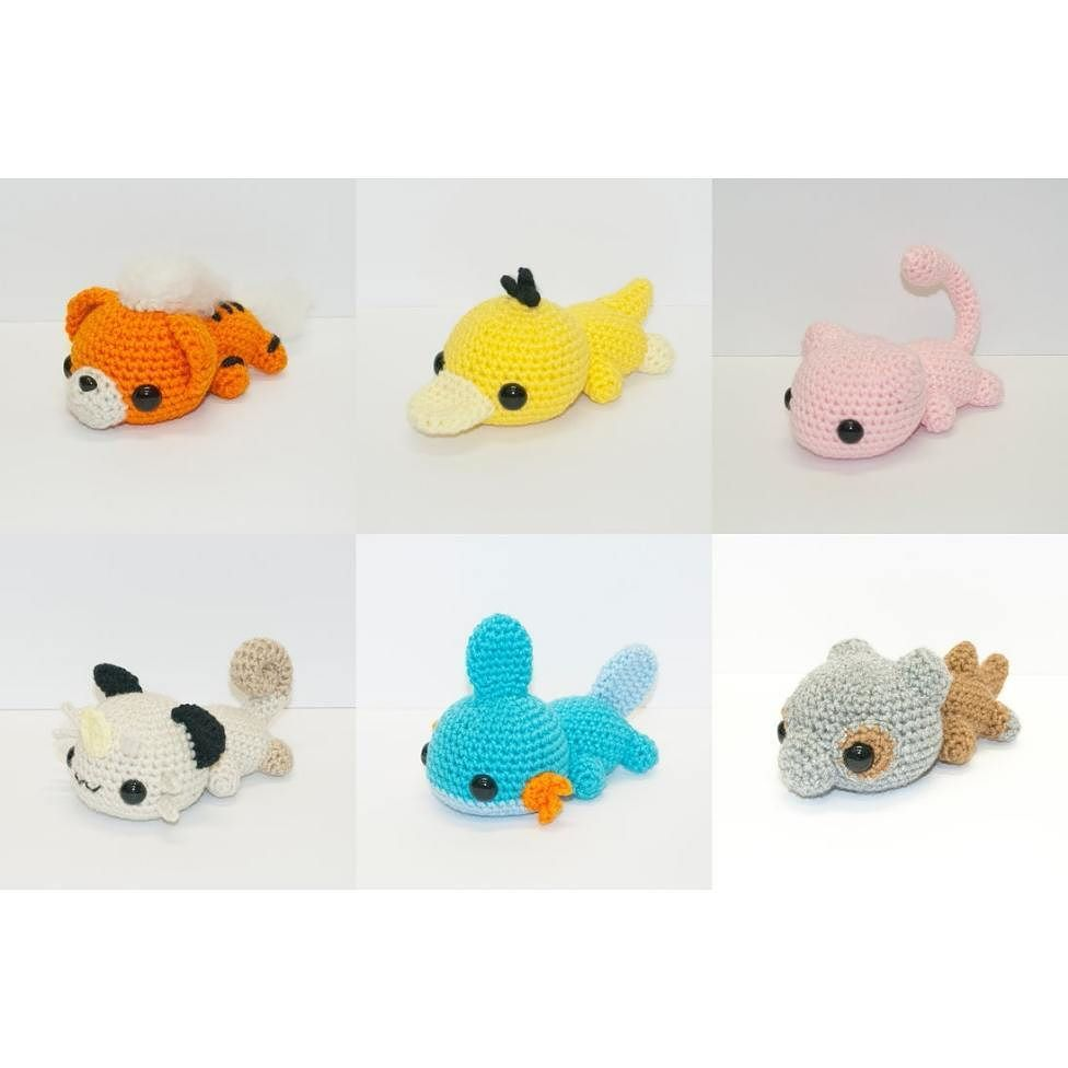 How cute are these?! Omg! | Amigurus and fimo figures | Pinterest ...